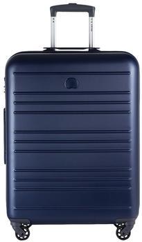 Delsey Carlit 4-Rollen-Trolley 66 cm blue
