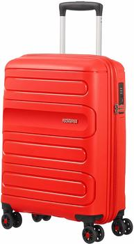 American Tourister Sunside 4-Rollen-Trolley 55 cm sunset red