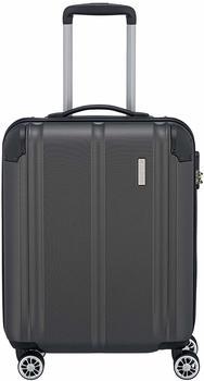 Travelite City 4-Rollen-Trolley 55 cm anthracite