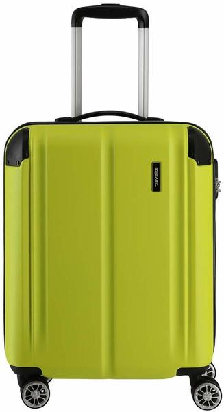 Travelite City 4-Rollen-Trolley 55 cm limone