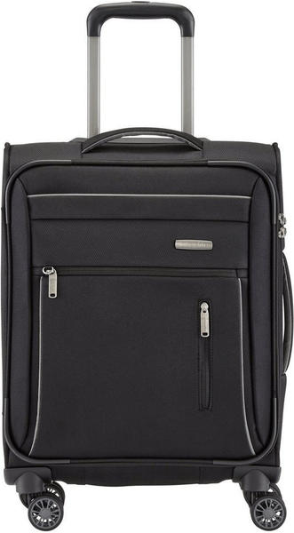 Travelite Capri 4-Rollen-Trolley 55 cm black