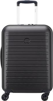 Delsey Segur 2.0 4-Rollen-Trolley Slim Line 55 cm black
