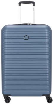 Delsey Segur 2.0 4-Rollen-Trolley 70 cm blue