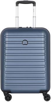 Delsey Segur 2.0 4-Rollen-Trolley Slim Line 55 cm blue
