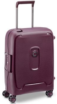 Delsey Moncey 4-Rollen-Trolley Slim Line 55 cm purple