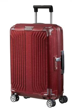 Samsonite Lite-Box Spinner 55 cm deep red