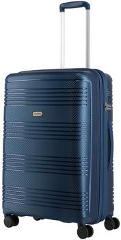 Travelite Zenit 4-Rad Trolley 68 cm blau