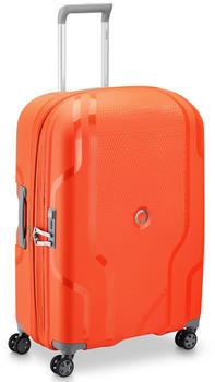 Delsey Clavel 4-Trollen-Trolley 70 cm orange