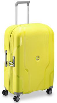 Delsey Clavel 4-Trollen-Trolley 70 cm limone