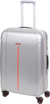 Travelite Echo 4-Rollen-Trolley 68 cm silver