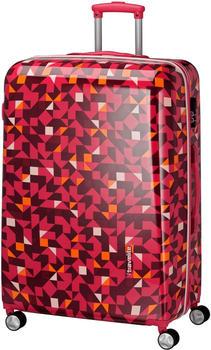 Travelite Campus Hard 4-Rollen-Trolley 77 cm quadro pink