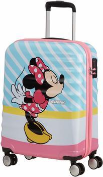 american-tourister-wavebreaker-4-wheel-trolley-55-cm-minnie-pink-kiss