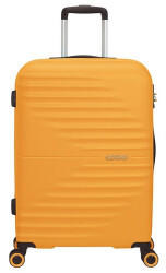 american-tourister-wavetwister-4-wheel-trolley-66-cm-sunset-yellow
