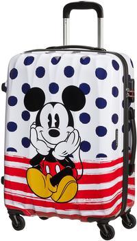 american-tourister-disney-legends-4-wheel-trolley-65-cm-mickey-blue-dots