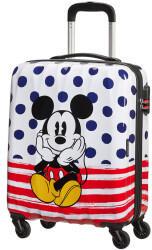 american-tourister-disney-legends-4-wheel-trolley-55-cm-mickey-blue-dots