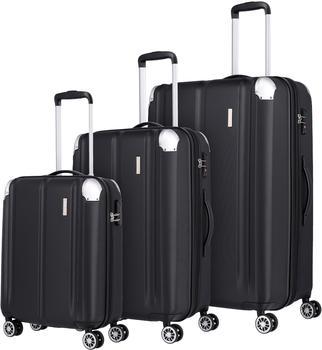travelite-city-4-rollen-trolley-set-55-68-77-cm-schwarz