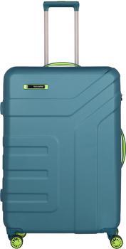 travelite-vector-20-4-rollen-trolley-77-cm-petrol-limone