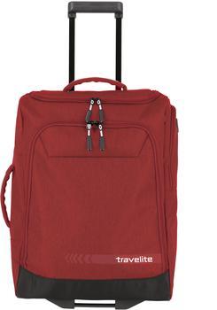 travelite-kick-off-trolley-reisetasche-55-cm-rot