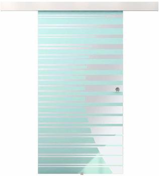 Home Deluxe Glasschiebetür 105cm (GT105x205)