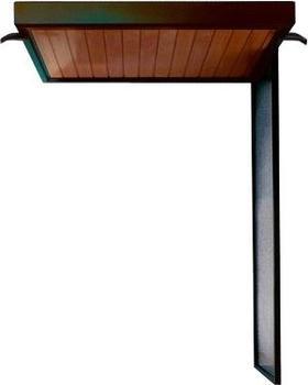gutta-rechteckvordach-nm-200-weiss