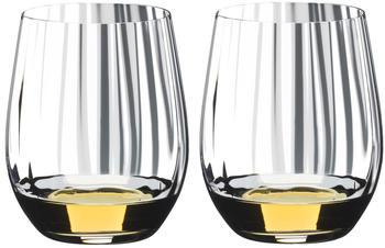 Riedel Optic Tumbler Whiskyglas 344 ml 2er Set