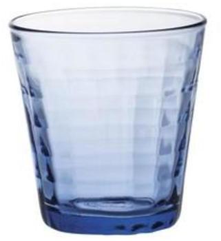 Duralex Prisme Whiskyglas 22 cl Marine blau 20er Set