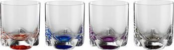 Bohemia Cristal Whiskyglas 280ml mehrfarbig 4-tlg