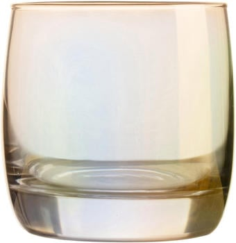 Luminarc Whiskyglas Shiny (4-tlg), farblich beschichtet, goldfarben