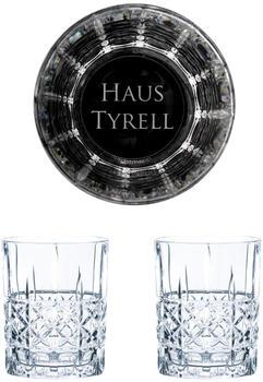 Nachtmann Whiskyglas Game of Thrones Whiskygläser Set Haus Tyrell