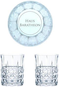 Nachtmann Whiskyglas Game of Thrones Whiskygläser Set Haus Baratheon