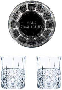 Nachtmann Whiskyglas Game of Thrones Whiskygläser Set Haus Graufreud