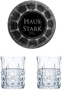 Nachtmann Whiskyglas Game of Thrones Whiskygläser Set Haus Stark