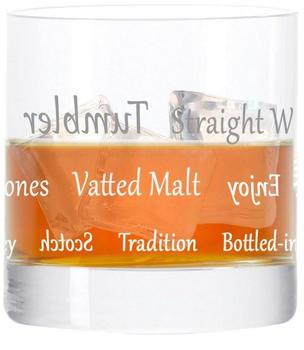 Leonardo Whiskyglas Becher, mit Gravur, Stil 05, Tumbler, Geschenk