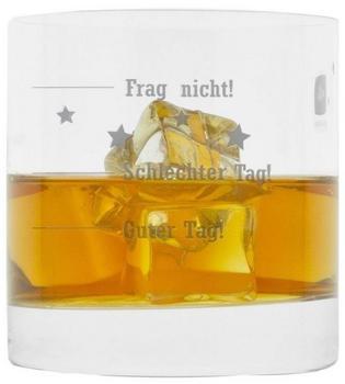 Leonardo Whiskyglas mit Gravur, Guter Tag! Schlechter Tag! Frag Nicht!