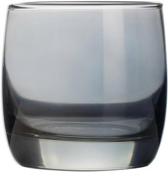 Luminarc Whiskyglas Shiny (4-tlg), farblich beschichtet, grafit