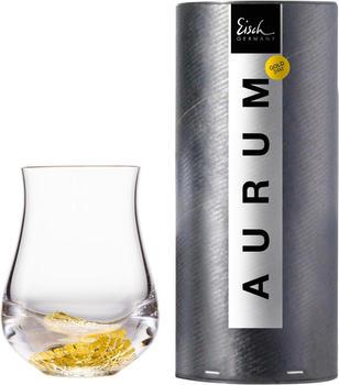 Eisch Whiskyglas Aurum (1-tlg), handgefertigt, bleifreies Kristallglas, 360 ml