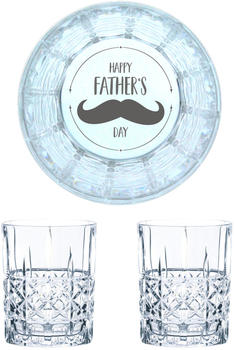 Nachtmann Whiskyglas Gravur Happy Father's Day 345 ml, 2er Set