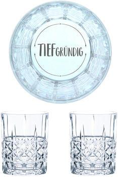Nachtmann Whiskyglas Gravur Tiefgründig 345 ml, 2er Set