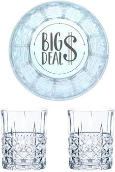 Nachtmann Whiskyglas Gravur Big Deal 345 ml, 2er Set