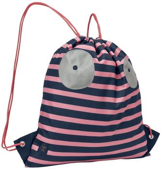 Lässig Turnbeutel Junge Mädchen mit Kordelzug Rucksackfunktion Sportbeutel Schule KindergartenMini String Bag, Little Monsters
