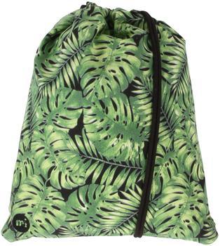 Mi-Pac Tropical Leaf Kit Bag Tasche mit Kordelzug, 47cm, 20Liter, Grün