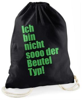 """GermanBox Statement-Turnbeutel """"Ich bin nicht sooo der Beutel Typ!"""""""