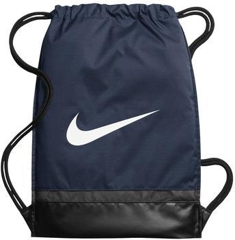 e5d0c0e79c2b3 Nike Brasilia Gymsack midnight navy black white (BA5338)