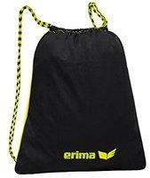 Erima Turnbeutel neon gelb/schwarz,