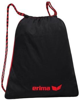 Erima Turnbeutel schwarz/rot