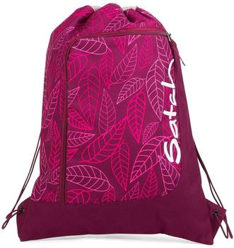 ergobag Satch Gym Bag Purple Leaves