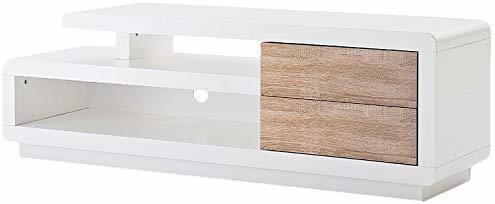 MCA Furniture Cosima TV-Element 1420 mm weiß/Eiche
