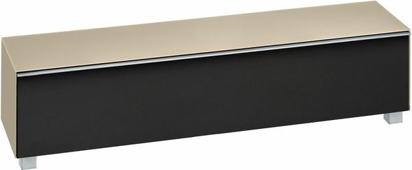 Maja 7738 Soundboard Glas sand matt/Akustikstoff schwarz