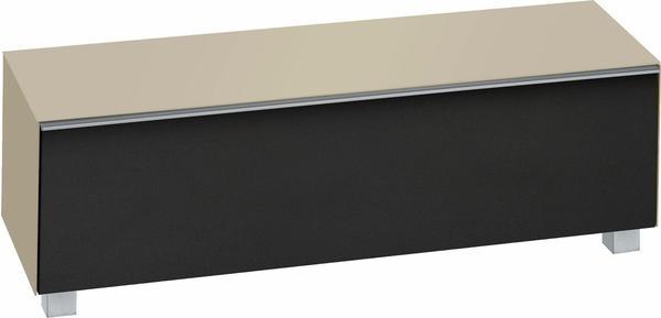 Maja 7736 Soundboard Glas sand matt/Akustikstoff schwarz