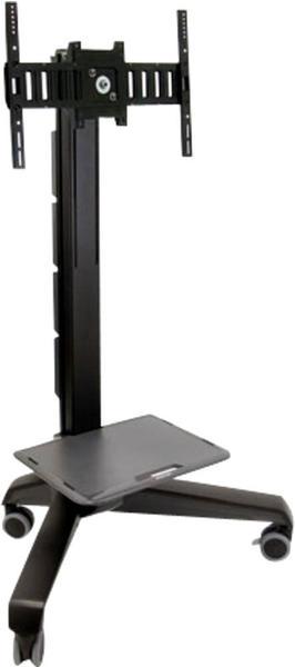Ergotron Neo-Flex Mobile MediaCenter UHD schwarz